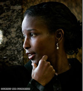Ayaan Hirsi Ali founded the AHA Foundation in 2007.