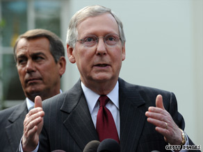  Senate Minority Leader Mitch McConnell said Tuesday that he is heartened to hear that bipartisan talks on Wall Street reform have resumed in earnest.