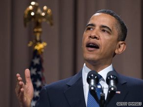 President Obama called on the financial industry Thursday to support his efforts to enact new regulatory reforms or risk repeating the 'failure of responsibility' that nearly brought down the nation's economy.