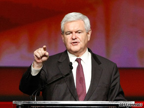 Newt Gingrich on Thursday slammed a proposal to build a mosque near Ground Zero in New York City.