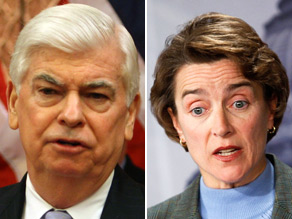 Sens. Blanche Lincoln and Chris Dodd have hammered out a deal that would impose new rules on the complicated financial bets that fueled the mess of the past three years.