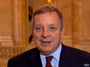 Sen. Dick Durbin told CNN on Monday that &#039;the filibusters have to end.&#039;