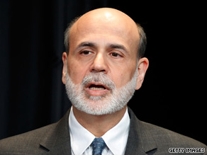 Federal Reserve Chairman Ben Bernanke addressed President Obama's bipartisan debt commission Tuesday.