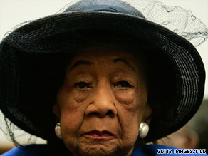 Dorothy Height was a leading civil rights pioneer of the 1960s.