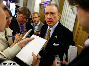 Sen. Arlen Specter faces a tough primary battle in Pennsylvania.