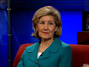 Sen. Kay Bailey Hutchison, R-Texas, told CNN's John King Tuesday that her party should play a larger role in drafting financial reform legislation.