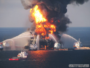 One of the many dangers of off shore drilling.