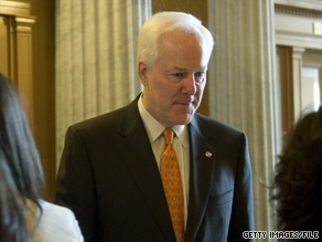 Sen. John Cornyn said Thursday that the NRSC would ask for the money it gave to Charlie Crist's campaign back if the Florida governor abandoned the Republican Party and ran for Senate as an independent.