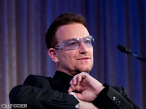 President Obama and U2 lead singer Bono met on Friday at the White House.