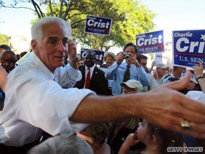 Florida Republican Gov. Charlie Crist wants independents to back his bid to become Florida's next senator. But he might not be exactly what they are looking for.