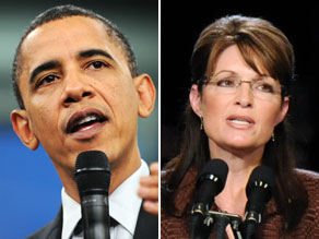 Former Alaska Gov. Sarah Palin and President Obama will both be in Michigan on Saturday.