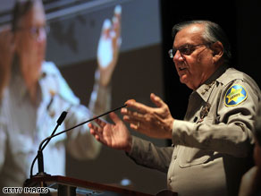Joe Arpaio says he will consider a run for the governor's seat over the weekend.
