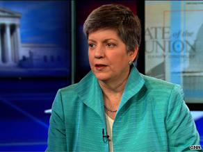 The law 'puts everybody at risk' by diverting attention of police and sheriffs from higher-priority crimes, Homeland Security Secretary and former Arizona Gov. Janet Napolitano told CNN.