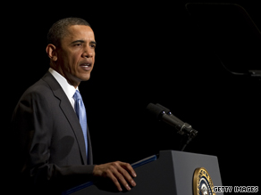 Speaking about the economy Tuesday, President Obama said the recession was 'not just an economic problem -- it's a human tragedy.'