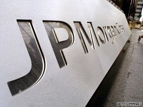 A top JPMorgan Chase executive authored a memo critical of members of congress earlier this week.
