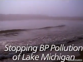 Republican Mark Kirk&#039;s new ad mentions embattled energy company BP.