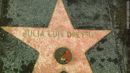 CNN producer David Daniel's photo of the misspelled star.