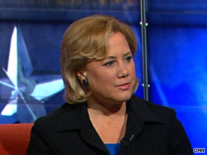 Mary Landrieu avoided saying whether she would return donations from BP on Tuesday.