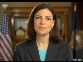Kelly Ayotte released her first television ad on Wednesday.