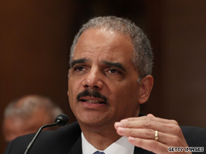 Senators questioned Attorney General Eric Holder Thursday on the effective use of the terrorist watch list.