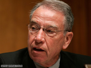 A new poll reveals a potentially tough re-election for Sen. Charles Grassley.