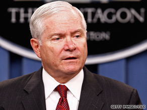 Increasing health care costs, a top-heavy uniformed and civilian management force, and big-ticket weapons systems are swelling the military's budget at an 'unsustainable' rate, Defense Secretary Robert Gates said.