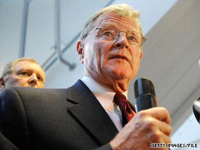 Sen. James Inhofe, R-Oklahoma, said Monday he would vote against Elena Kagan's nomination to the Supreme Court.