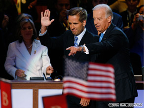 Beau Biden, the son of Vice President Joe Biden, is progressing, the Delaware Dept. of Justice said Wednesday.