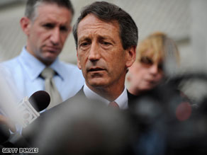 South Carolina Gov. Mark Sanford said Wednesday that he spent the weekend with his former mistress.