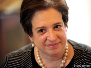 Supreme Court nominee Elena Kagan has argued six cases before the high court since September, and has both zinged and been zinged by her potential future colleagues.