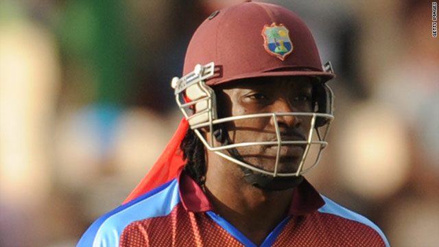 West Indies captain Chris Gayle could not prevent his team from crashing out of the world 20/20 tournament.