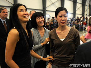 Laura and Lisa Ling are your Connector's of the Day.