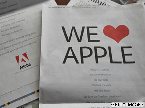 Does the battle between Adobe and Apple impact you?