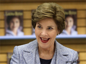Laura Bush recalls dangerous, disappointing and happy stories, from her new book, in an interview with CNN&#039;s Wolf Blitzer.
