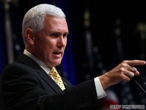 Rep. Pence frequently describes himself as 'a Christian, a conservative, and a Republican - in that order.'