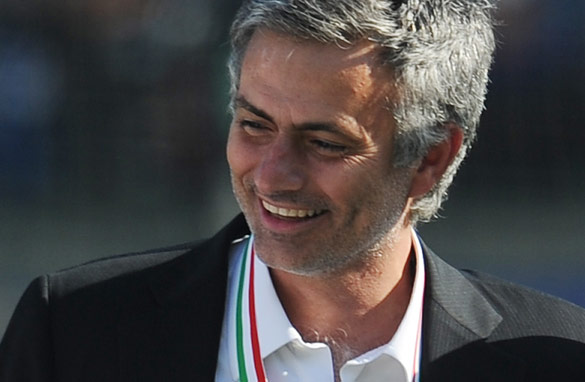 Jose Mourinho celebrates his latest triumph (Getty Images).
