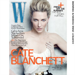 Cate Blanchett in W magazine