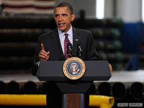 The president said Tuesday that his administration's economic stimulus package was 'the right thing to do.'