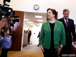 Supreme Court nominee Elena Kagan returned to Capitol Hill on Tuesday.