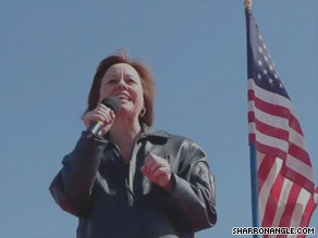 GOP Senate nominee Sharron Angle will meet with top Republican insiders in Washington on Tuesday.