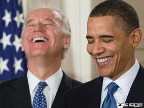 Biden famously cursed during the bill signing of health care reform.
