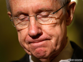 Sen. Harry Reid said Wednesday that another senator &#039;broke his word with me.&#039;