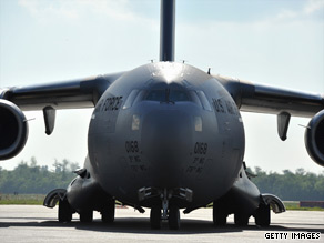 Robert Gates is trying to rein in some big-ticket contracts and has told Congress to stop spending money on projects like the C-17 transport plane pictured here.