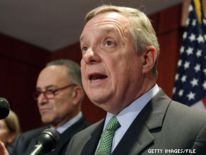 Sen. Dick Durbin said Thursday that Democrats will have the 60 votes needed to end debate on Wall Street reform.