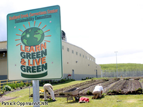 The Stafford Creek Corrections Center has saved hundreds of thousands of dollars through sustainable practices.