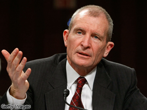 So you are replacing your Director of National Intelligence Dennis Blair. Can I make a suggestion? What the next candidate needs is imagination.