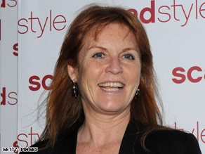Sarah Ferguson is the former wife of Prince Andrew, the Duke of York.