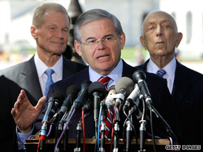 Tea party activists and conservatives are hoping to oust New Jersey Sen. Robert Menendez from office.