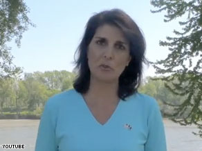  The blogger claiming to have had an affair with Nikki Haley has posted a series of text messages between himself and Haley&#039;s campaign manager on his website.
