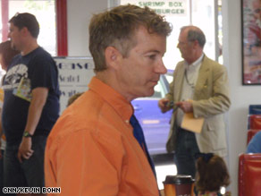 Rand Paul is a darling of the Tea Party movement.